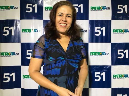 Carla Chagas, 1 Secretaria PEN Patriota 51 RJ